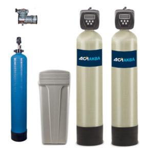 Система для удаления железа, марганца, сероводорода и жесткости ДСЛпроф Oxidizer AP + FLS + SFS