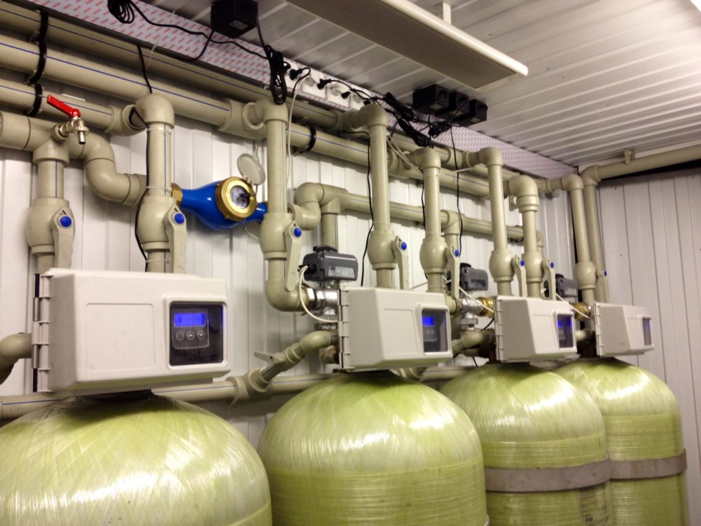 Промышленные станции обезжелезивания воды